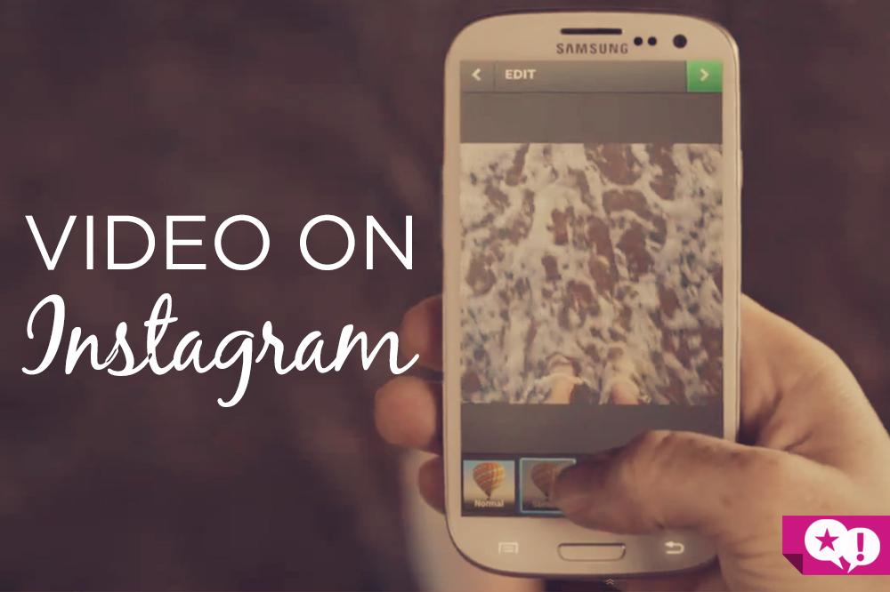 video on instagram